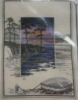 Derwentwater Designs: Sunsets Pinetree Bay TWL02~ Cross Stitch Kit
