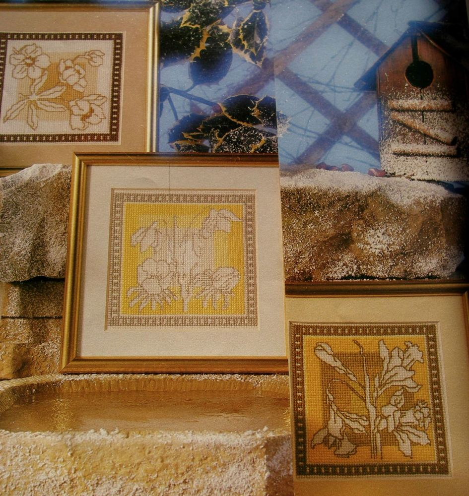 Winter Into Spring ~ Three Assisi Cross Stitch Charts