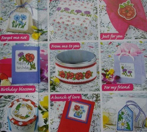 35 Wildflower Designs ~ Cross Stitch Charts