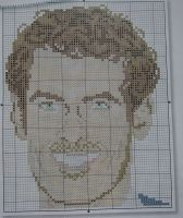 Andy Murray Tennis Player Celebrity ~ Cross Stitch Chart