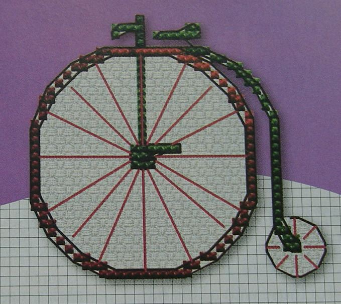 Vintage Modes of transport ~ Ten Cross Stitch Charts