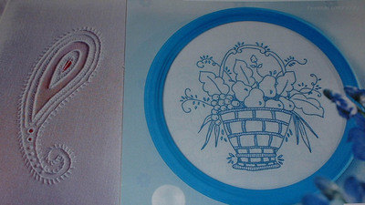 Delft Bluework & Paisley Whitework - 2 Embroidery Patterns