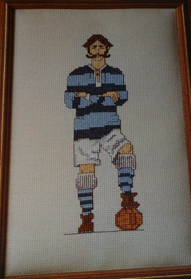Footballer ~ Cross Stitch Chart