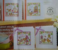 Cards for All Occasions ~ Four Cross Stitch Charts