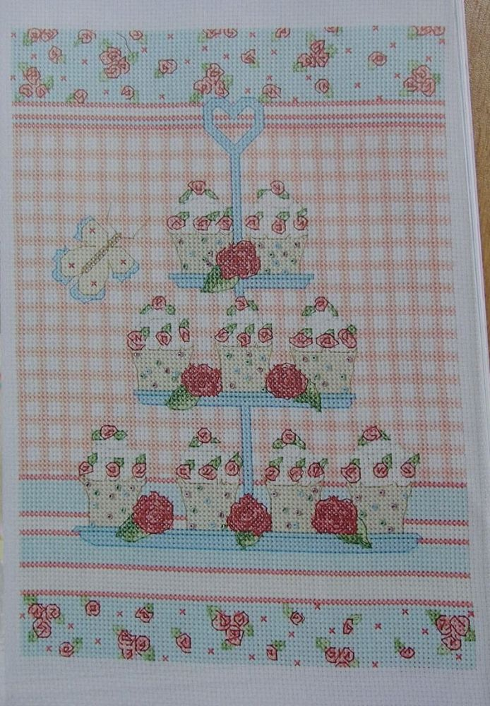 Cupcakes ~ Cross Stitch Chart
