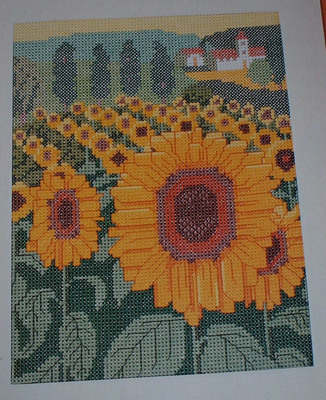 Field of Sunflowers ~ Cross Stitch Chart