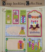 Birthday Celebrations ~ Cardstock Stickers