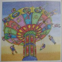 Fairground Swings ~ Cross Stitch Chart