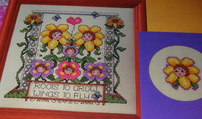 Roots to Grow Sampler ~ Cross Stitch Chart