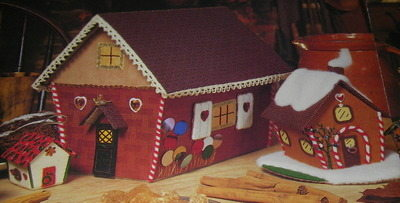 Gingerbread House Giftboxes ~ Embroidery Pattern