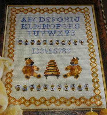 Honey Bear Sampler ~ Cross Stitch Chart