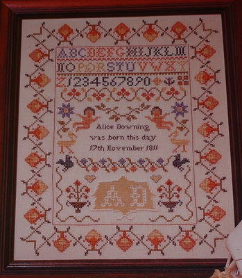 Traditional Classic Sampler ~ Cross Stitch Chart