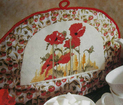 Poppies in the Cornfield ~ Cross Stitch Chart