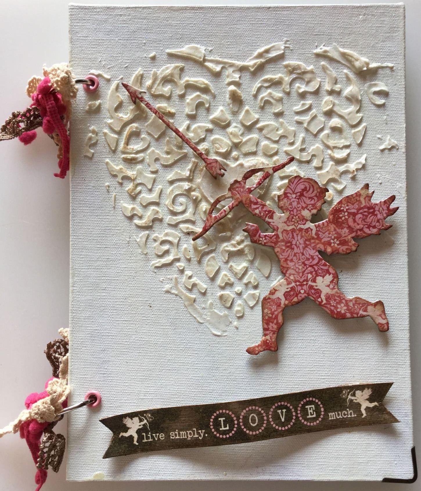 live simply handmade valentine anniversary love album full