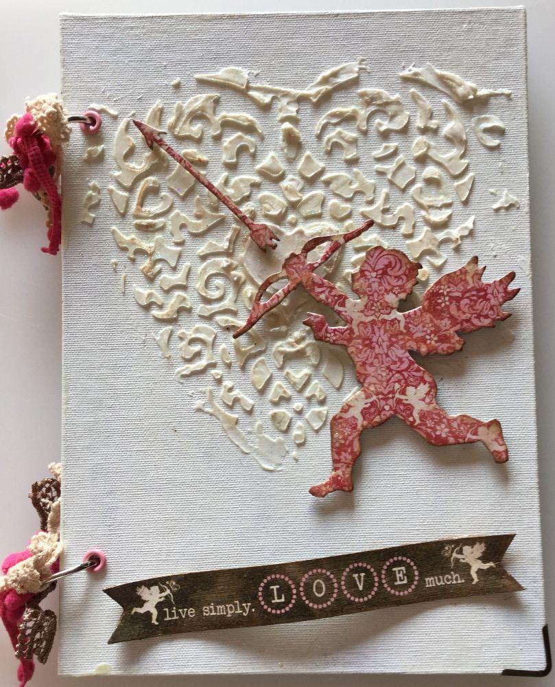 ANNIVERSARY ~ OOAK Handmade Scrapbook Albums