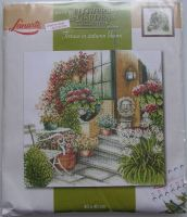 Lanarte: Terrace in Autumn Bloom 34790 ~ Cross Stitch Kit