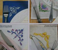 32 Decorative Corners ~ Cross Stitch Charts