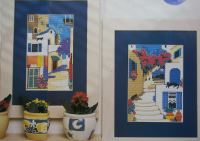 Two Greek Villages ~ Cross Stitch Charts