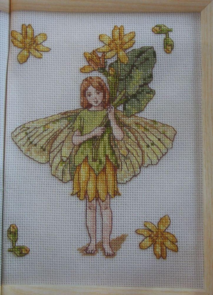 Celandine Flower Fairy ~ Flower Fairies ~ Cross Stitch Chart