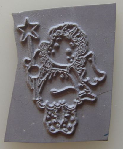 Mini Magnolia Unmounted Rubber Stamp: Starlight Tilda