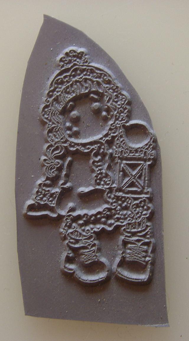 Mini Magnolia Unmounted Rubber Stamp: Tilda in Winter Night