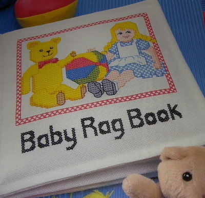 Baby's Rag Book ~ Cross Stitch Chart
