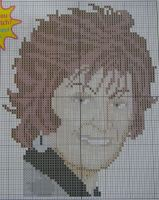 Sharon Osbourne ~ Cross Stitch Chart