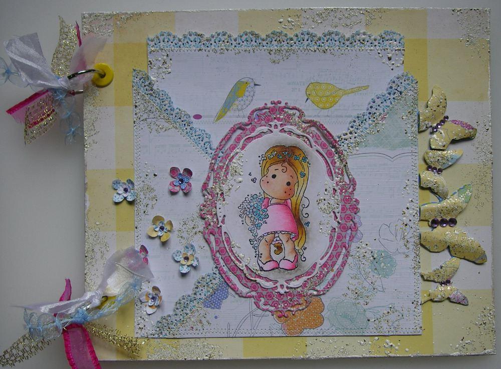 BIRTHDAY ~ OOAK Handmade Scrapbook Albums