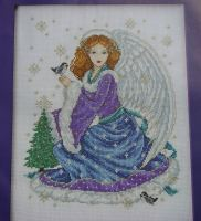 Christmas Snow Angel ~ Cross Stitch Chart