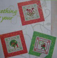 Twelve Days of Christmas Cards ~ Cross Stitch Charts