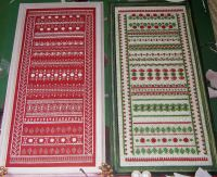Christmas Mixed Stitch Band Sampler ~ Embroidery Pattern
