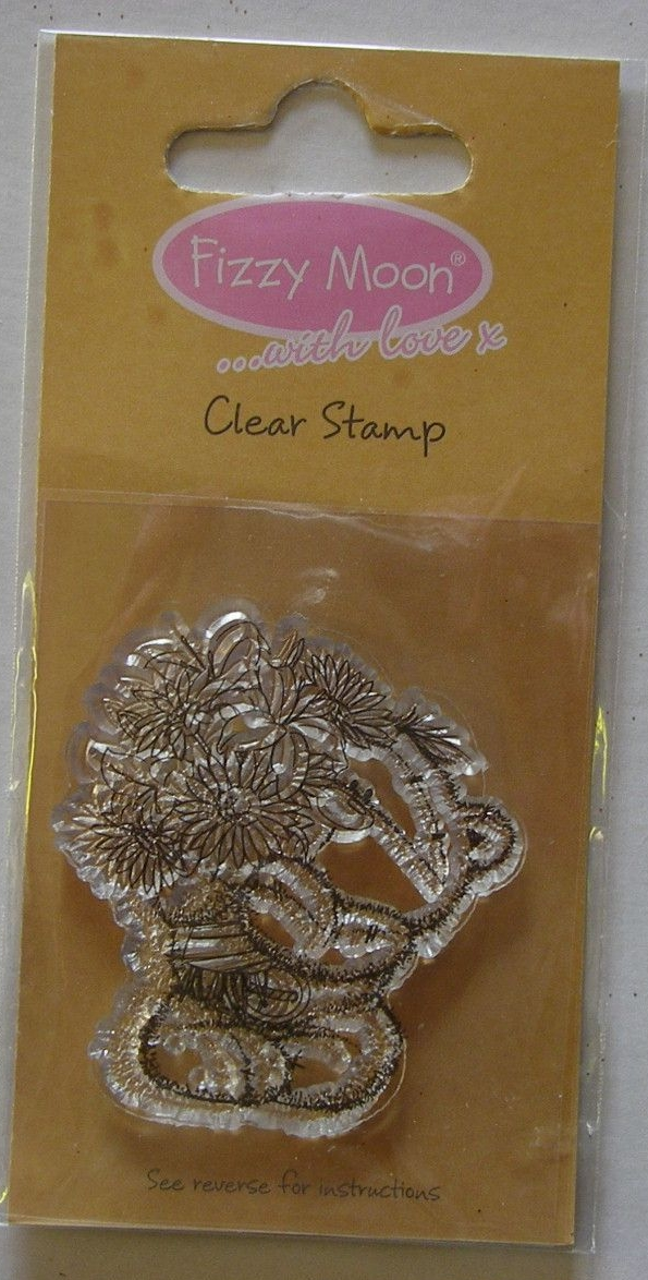 Fizzy Moon ...with love x Bunch of Flowers ~ Clear Stamp