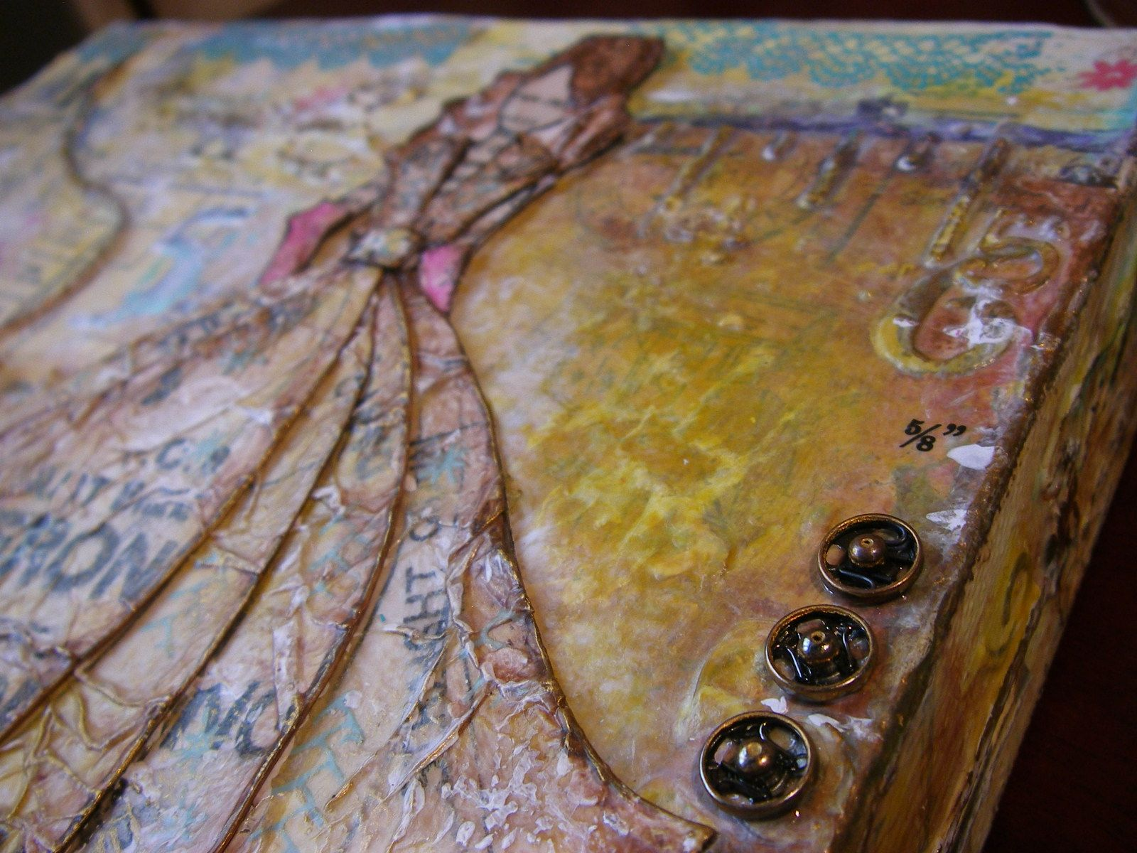 copyright 1983 layers mixed media canvas scrappykatzcraftbarn