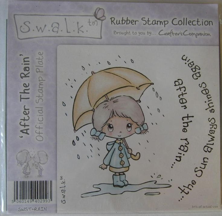 CRAFTER'S COMPANION S.W.A.L.K. Rubber Stamps