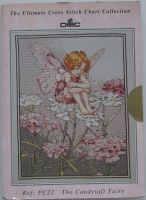 DMC: The Candytuft Fairy PC22 ~ Original Cross Stitch Chart Pack