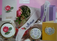 Mother's Day Cards & Gifts ~ Cross Stitch Charts