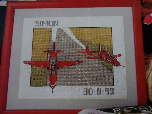 The Red Arrows ~ Cross Stitch Chart