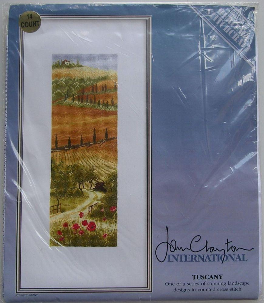 John Clayton International: Tuscany ~ Cross Stitch Kit