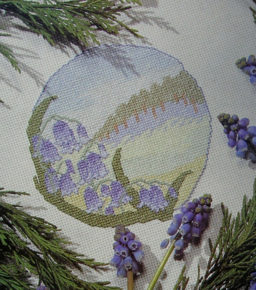 Bluebell Woods ~ Cross Stitch Chart