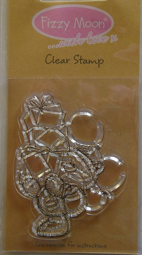 Fizzy Moon ...with love x Presents ~ Clear Stamp