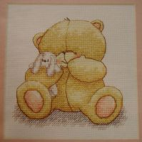 Forever Friends Bear: Cuddle Bear ~ Cross Stitch Chart
