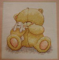 Forever Friends Bear: Cuddle Bear ~ Cross Stitch Chart