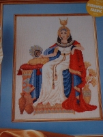 Egyptian Queen ~ Cross Stitch Chart
