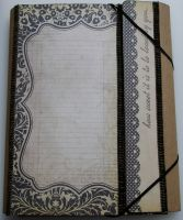 *how sweet it is to be loved by you ...* Handmade Folio Memory Album