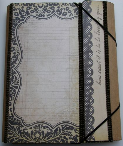 How Sweet It Is to be Loved By You ... Handmade Folio Memory Album