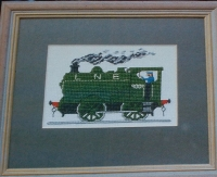 Steam Train ~ Cross Stitch Chart