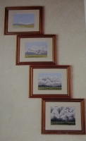 Cloud Formations ~ Four Cross Stitch Charts