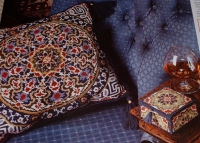 Samarkand Tapestry Cushion & Box ~ Needlepoint Or Cross Stitch Chart