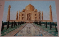 The Taj Mahal, Agra, India ~ Cross Stitch Chart