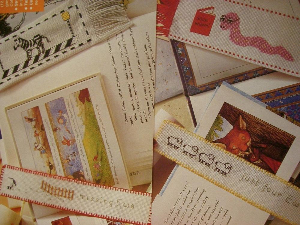 Bookmarks ~ Eight Cross Stitch Charts